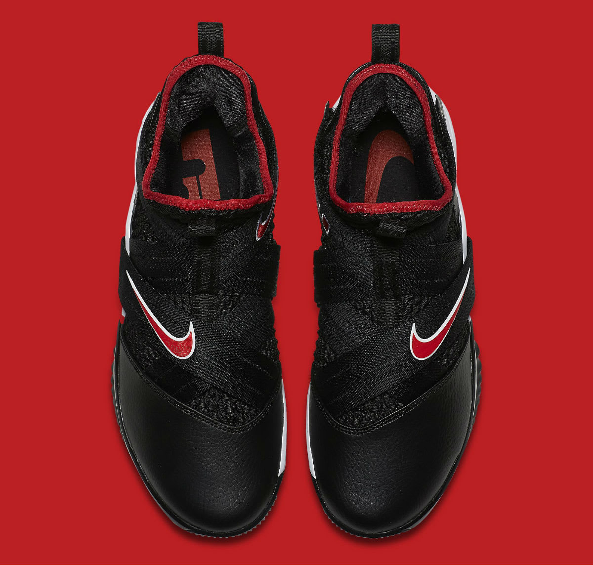 Nike LeBron Soldier 12 Bred Release Date AO4053-001 Top