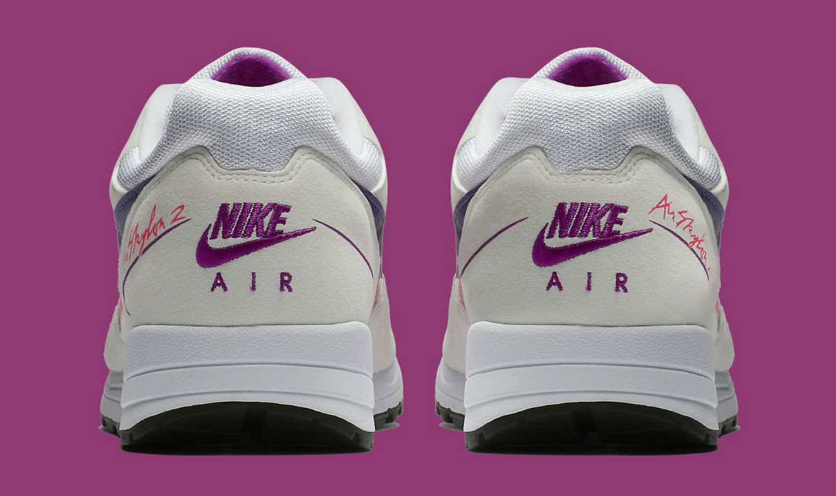 Nike Air Skylon 2 White Court Purple Solar Red Release Date AO1551-103 Heel