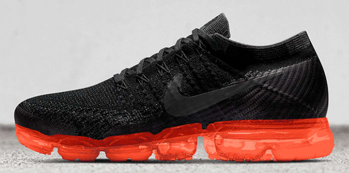 "NIKEiD Air VaporMax ""Orange"""