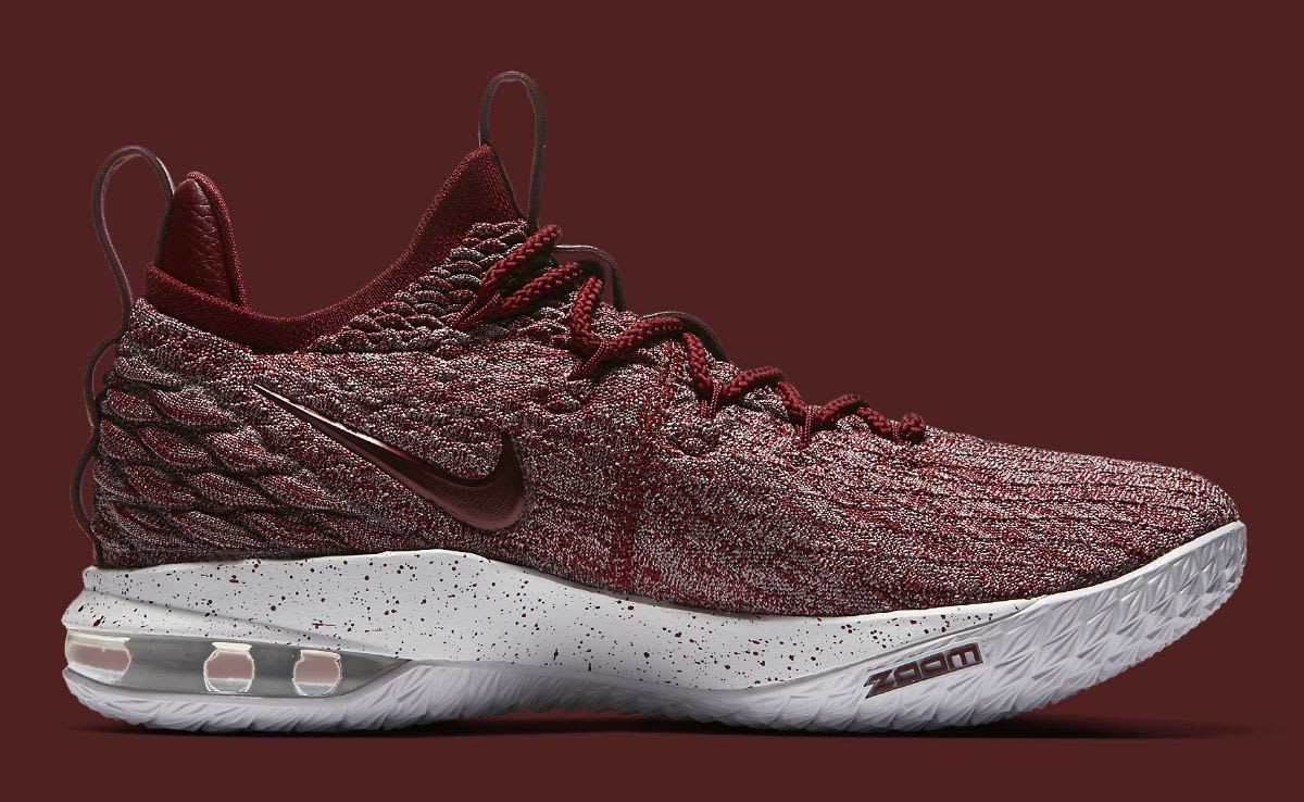 new style b5dee f8eff Nike LeBron 15 Low Taupe Grey Team Red Vast Grey Release ...