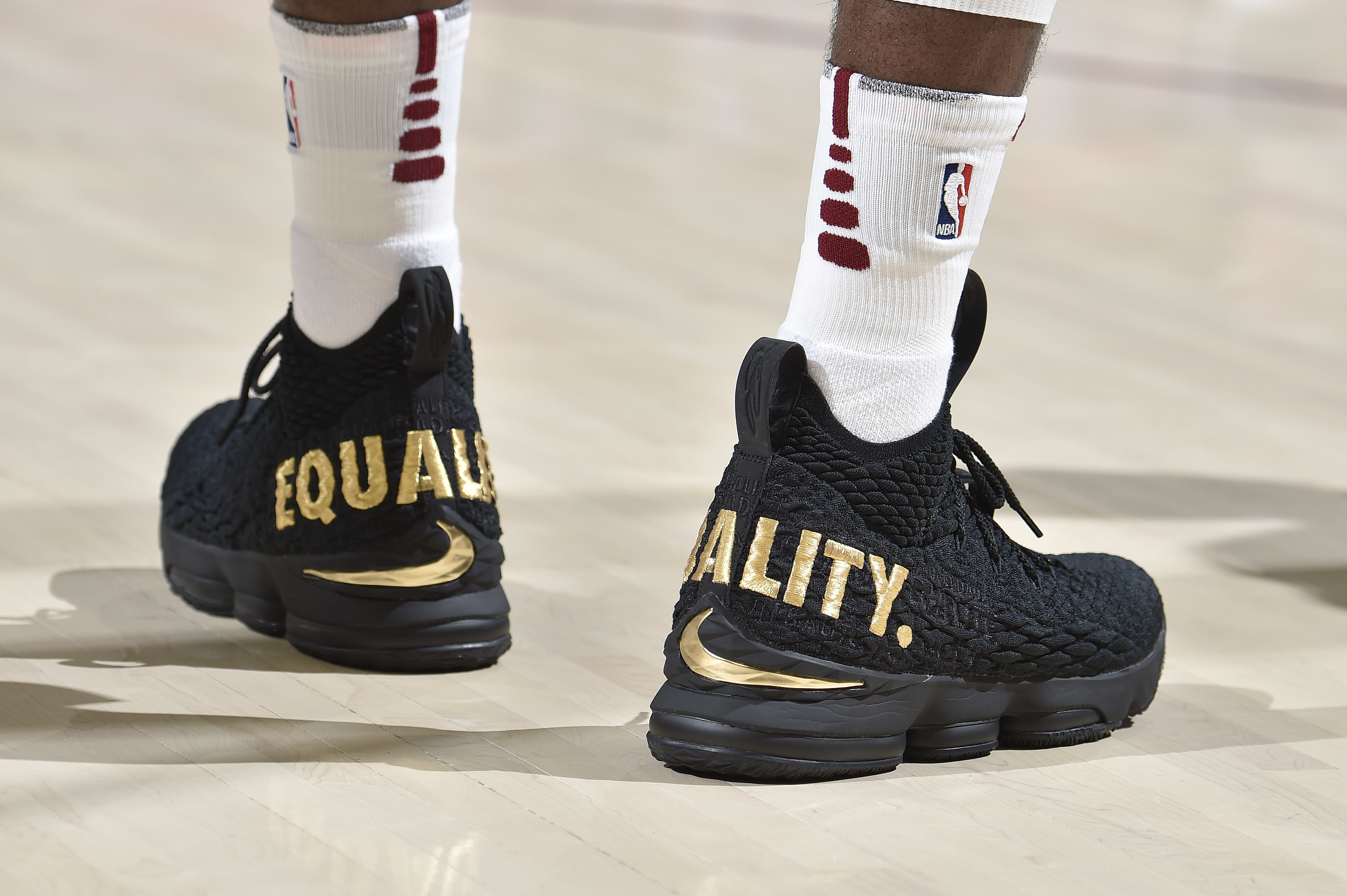 Nike LeBron 15 'Equality' PE 2