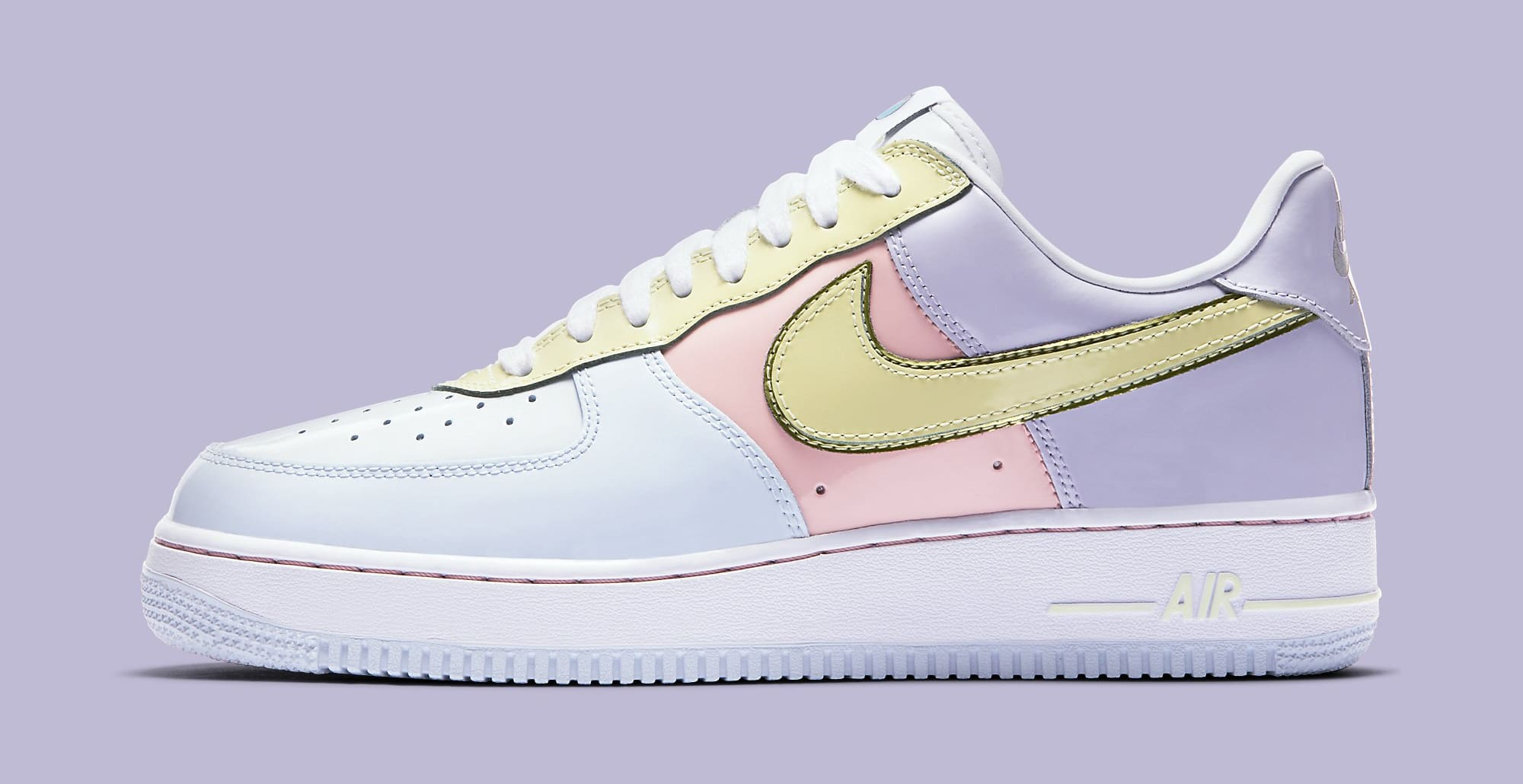 Easter Egg Nike Air Force 1 2017 Profile