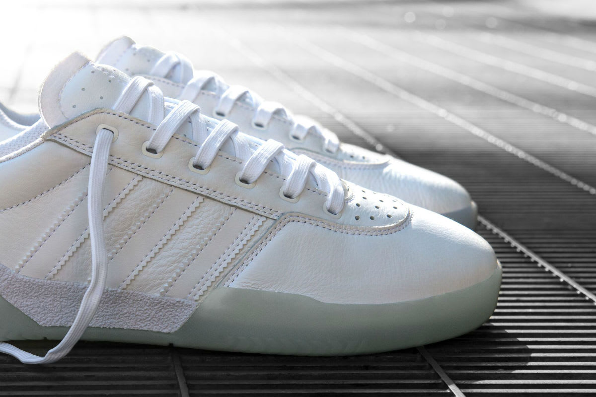 Adidas Skateboarding City Cup White Release Date Toe