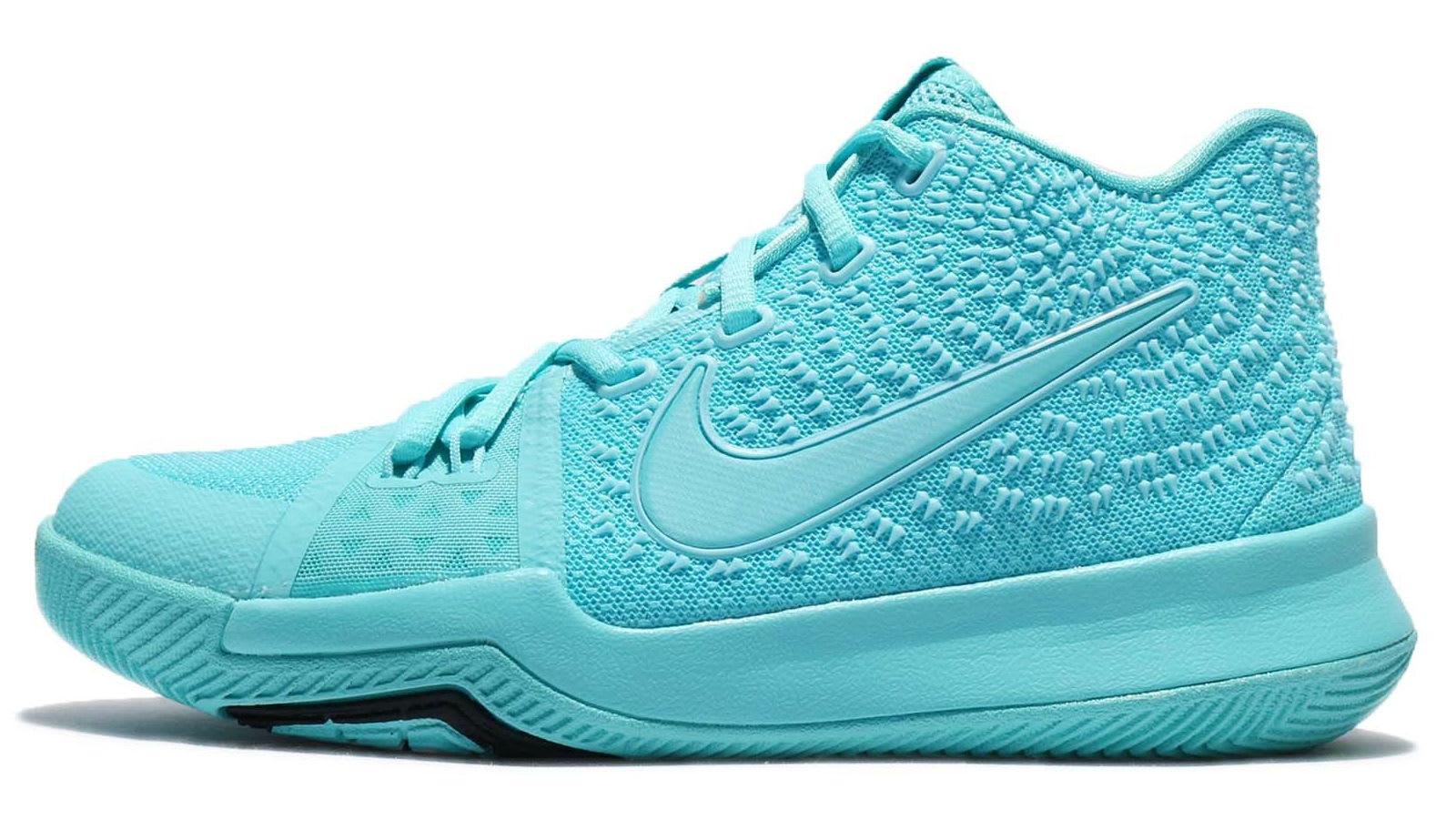 Nike Kyrie 3 GS Aqua Release Date Profile 859466-401