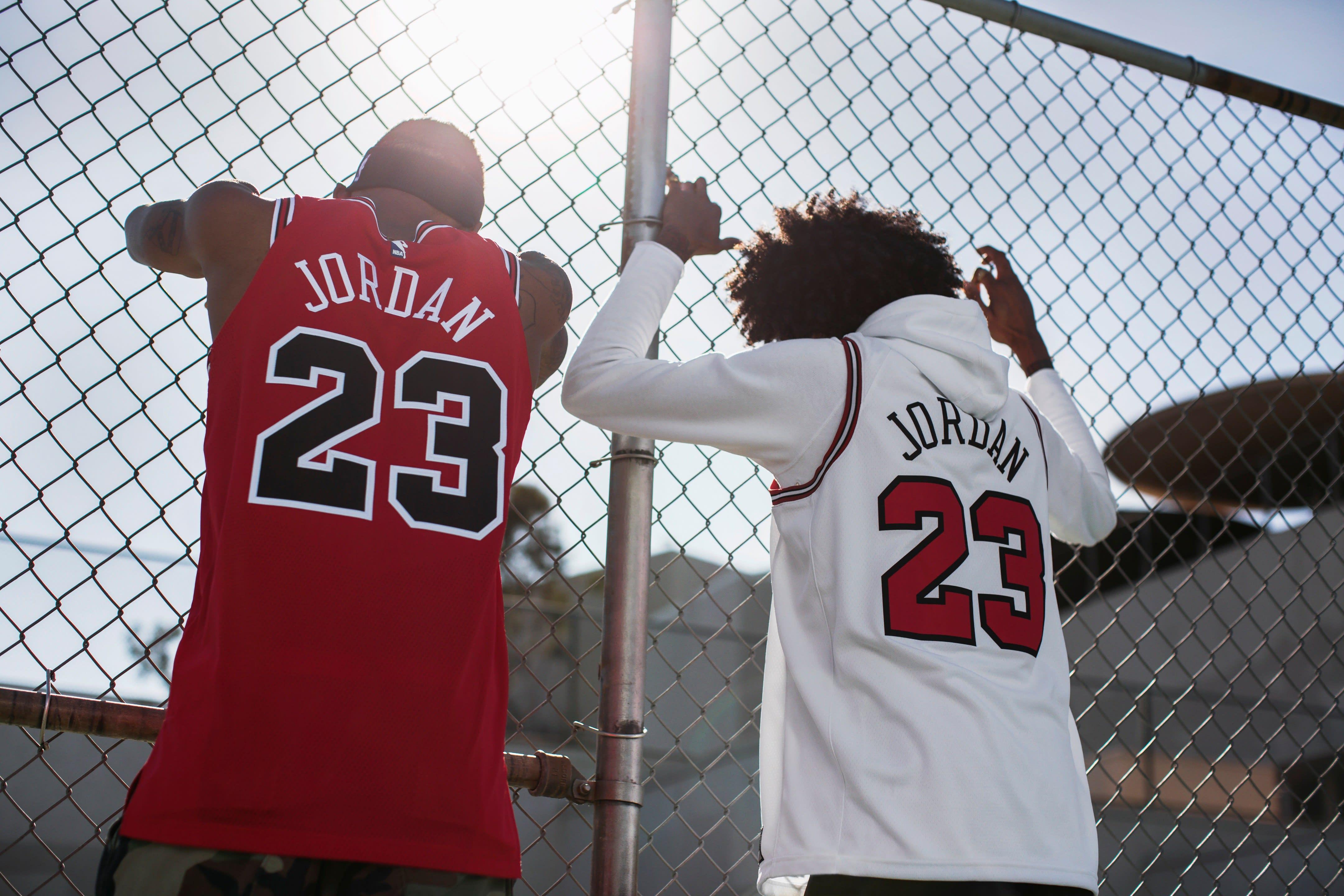 Michael Jordan Chicago Bulls Last Shot Jersey (Back)