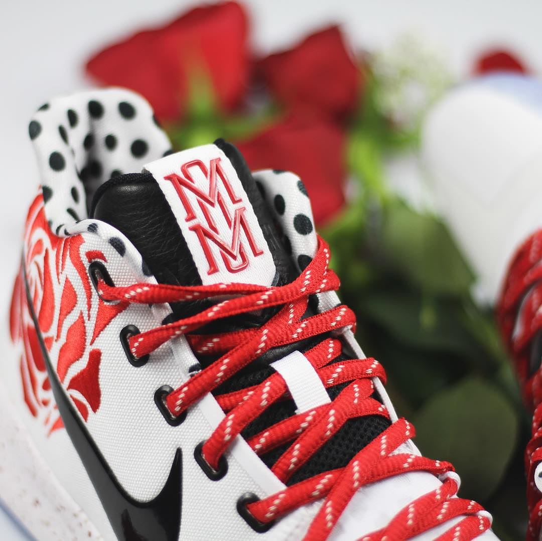Sneaker Room x Nike Kyrie 3 Mom Release Date Tongue