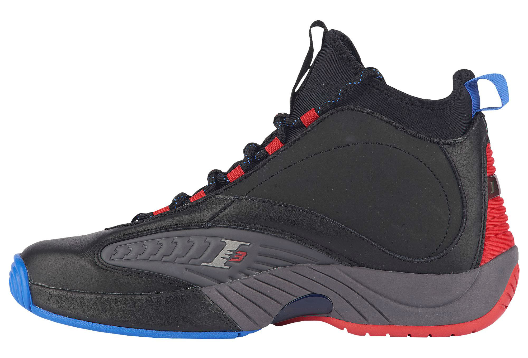 Reebok Answer 4.5 Black Ash Grey Primal Red Vital Blue Release Date CN5841 Medial