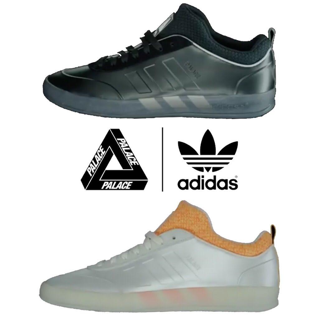 Palace Adidas Shoes Orange