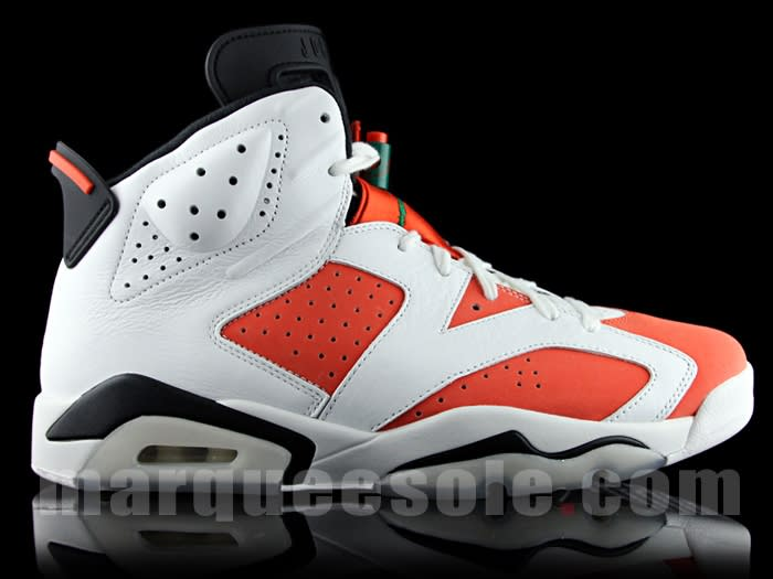 Gatorade Jordan 6 Be Like Mike 384664-145 Profile