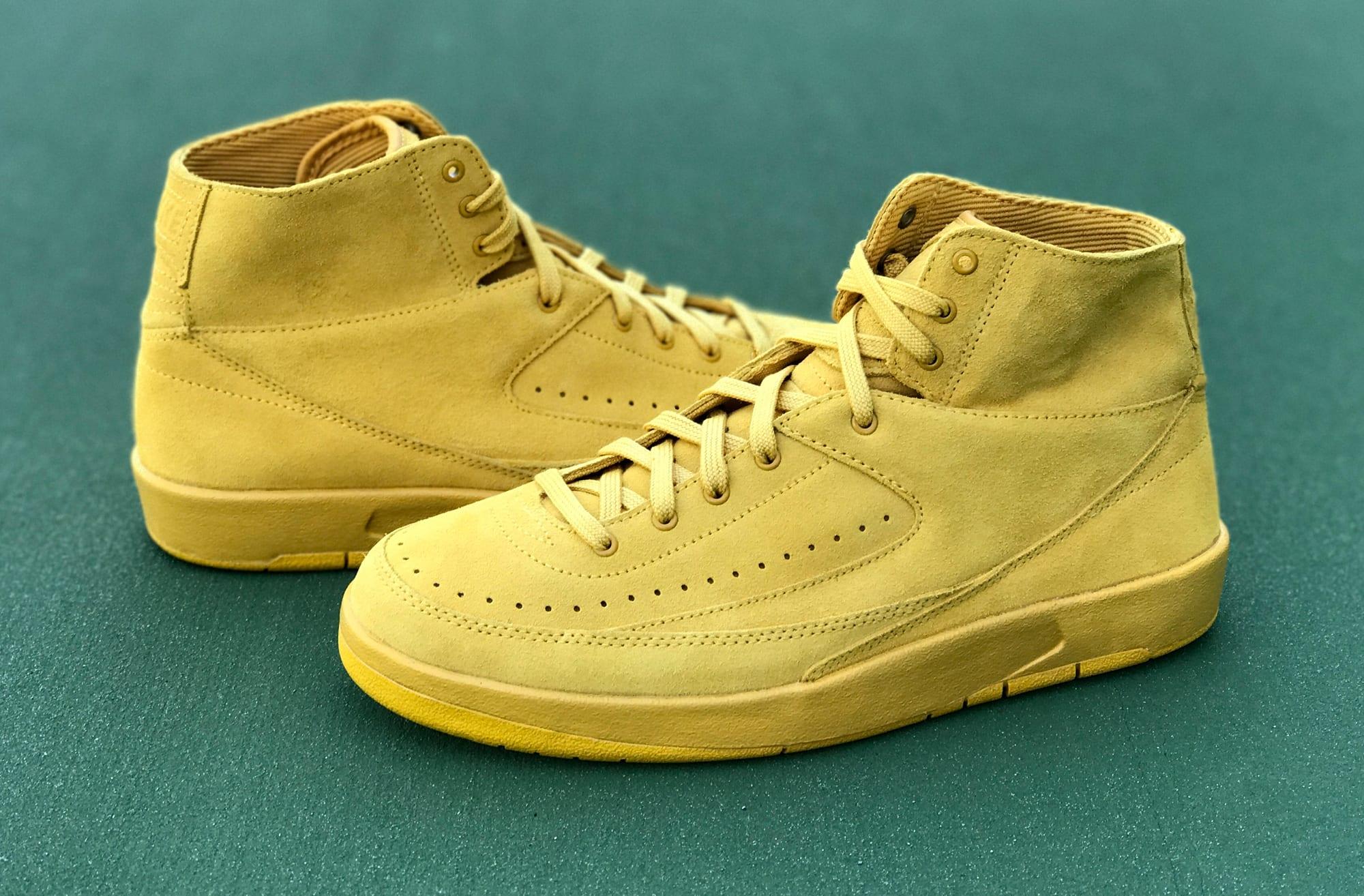 Mineral Gold Air Jordan 2 Decon