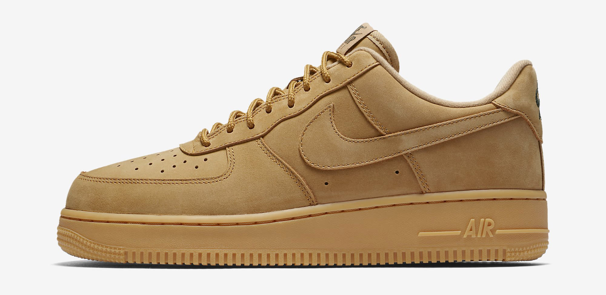 Wheat Nike Air Force 1 Low AA4016-200 Profile