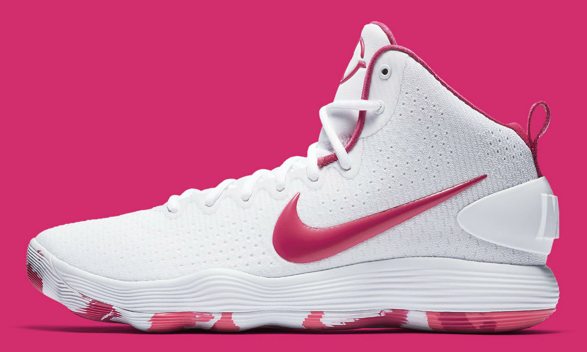 Nike Hyperdunk 2017 Kay Yow Think Pink Release Date Profile 897631-100
