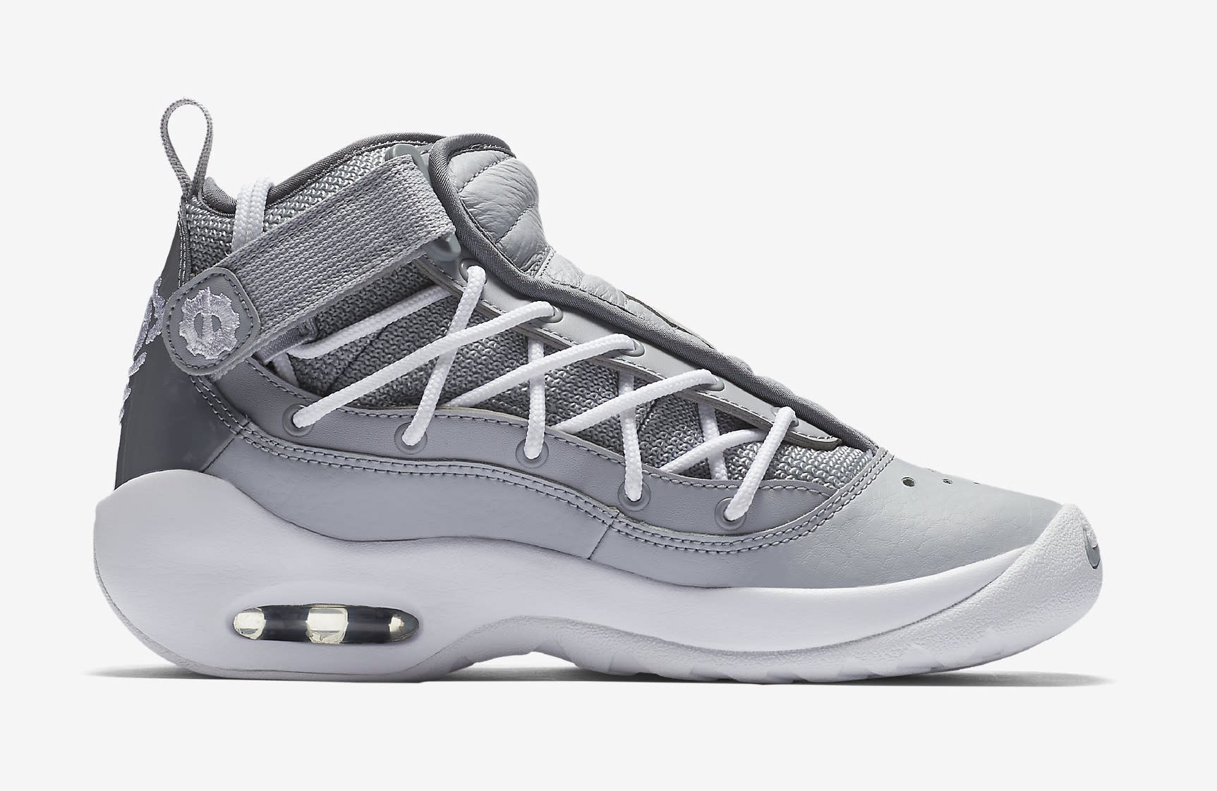 Nike Air Shake Ndestrukt 'Cool Grey' AA2888-002 (Medial)