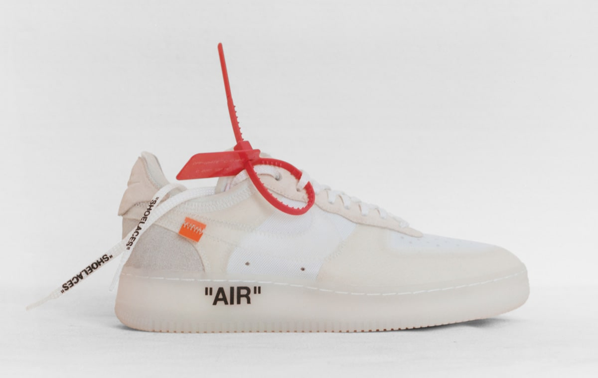 Virgil Abloh x Nike Air Force 1