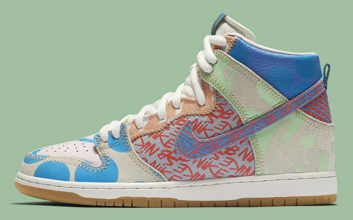 Thomas Campbell Nike SB Dunk High Chronicles Release Date Profile 918321-381
