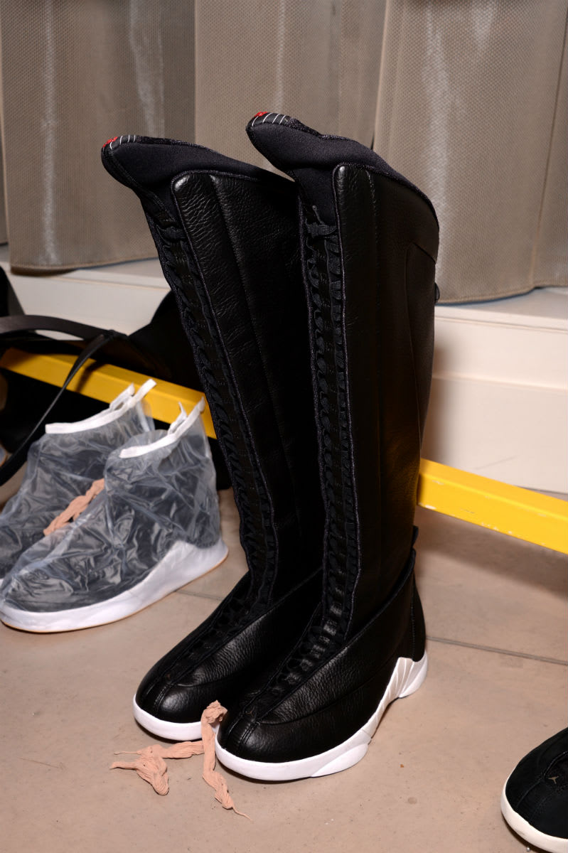 3704cb994848 Image via Frank Cooker · PSNY x Air Jordan 15 Knee-High Boot (4)