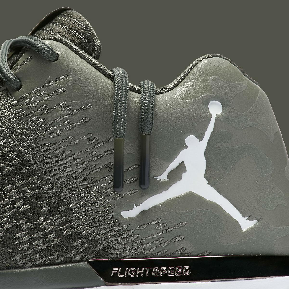 Air Jordan 31 Low Camo Release Date Laces 897564-051