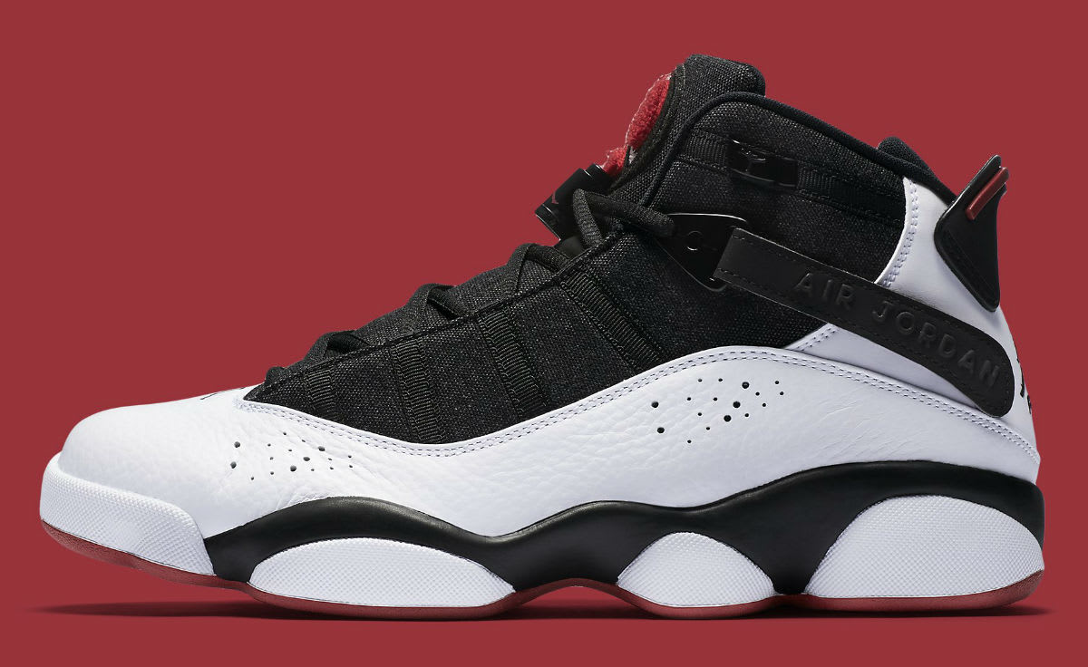 Jordan 6 Rings 2017 White Black Red Release Date Profile 322992-012
