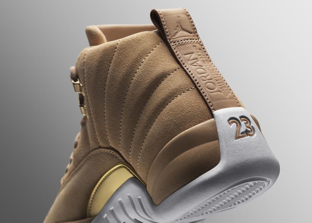Vachetta Tan Air Jordan 12 Heel