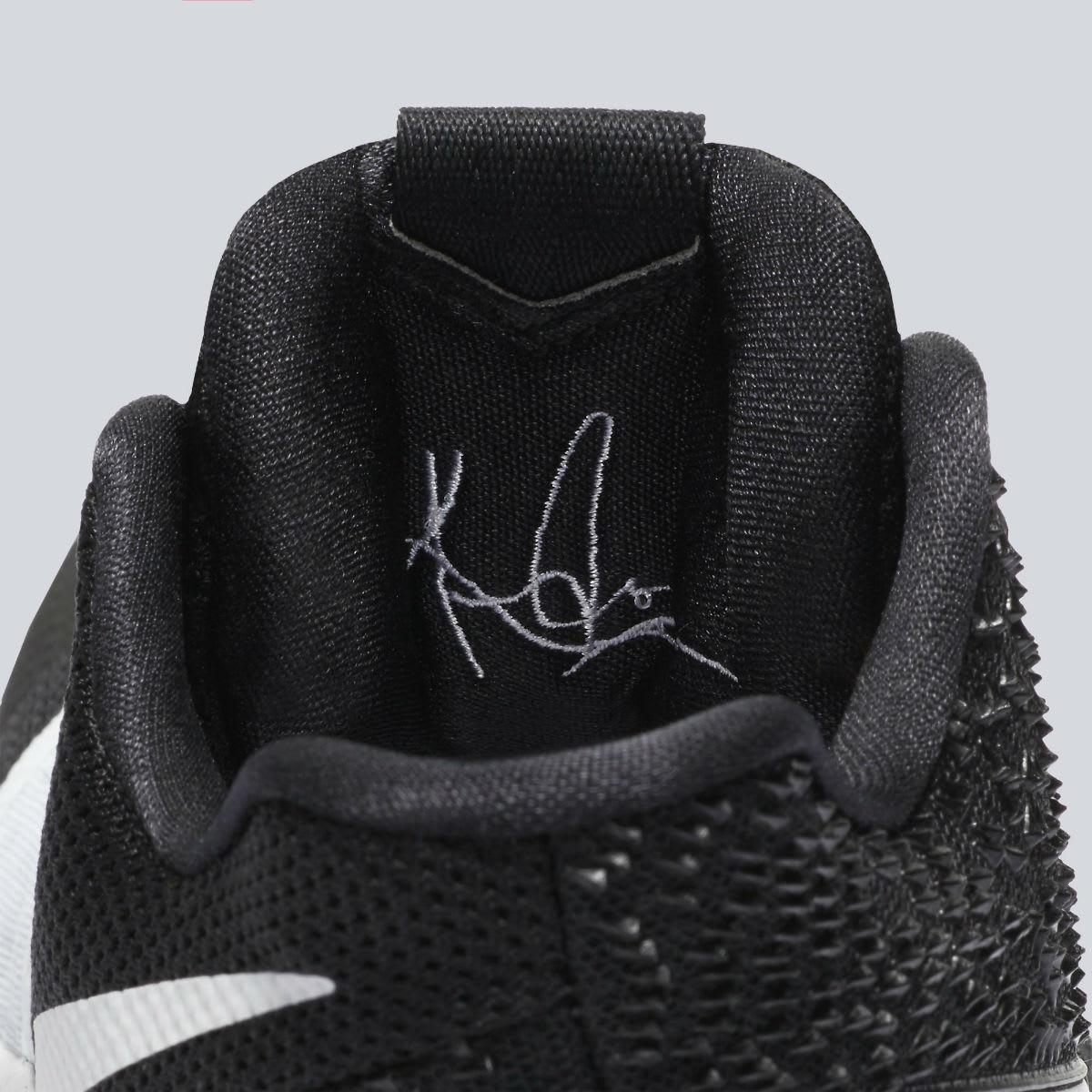 Nike Kyrie 3 Black White Tuxedo Release Date Tongue 917724-001
