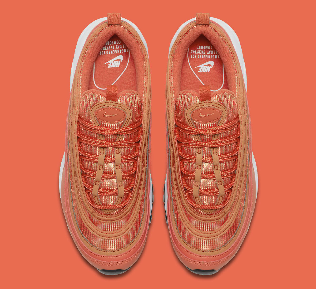 Nike Air Max 97 Safety Orange Release Date 921733-800 Top
