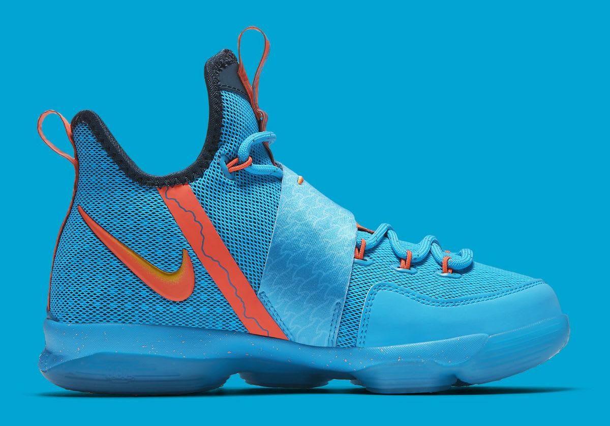 Nike LeBron 14 GS Cocoa Beach Release Date Medial 859468-477