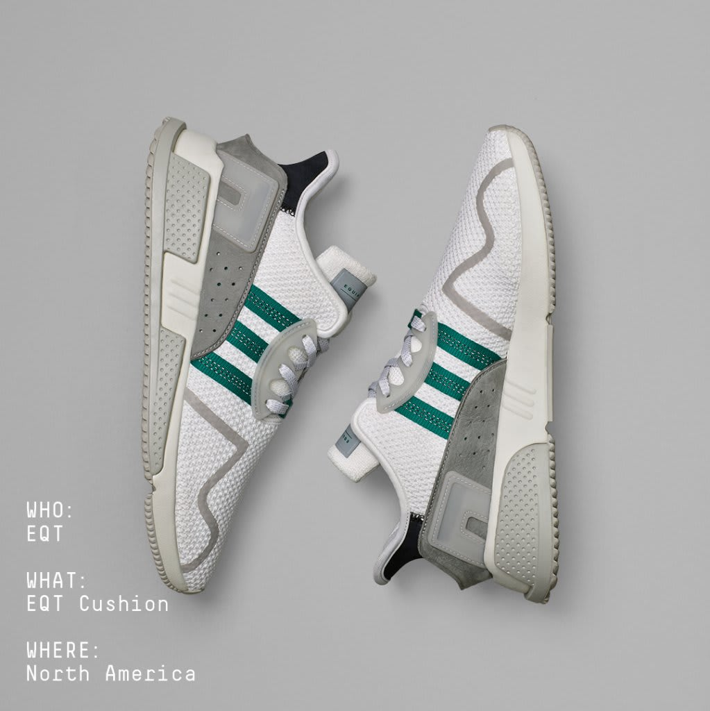 Adidas EQT Cushion ADV Class of '91 North America Release Date