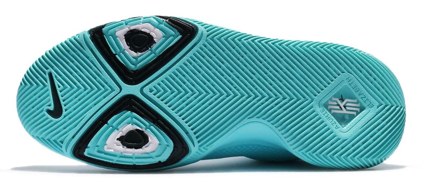 Nike Kyrie 3 GS Aqua Release Date Sole 859466-401