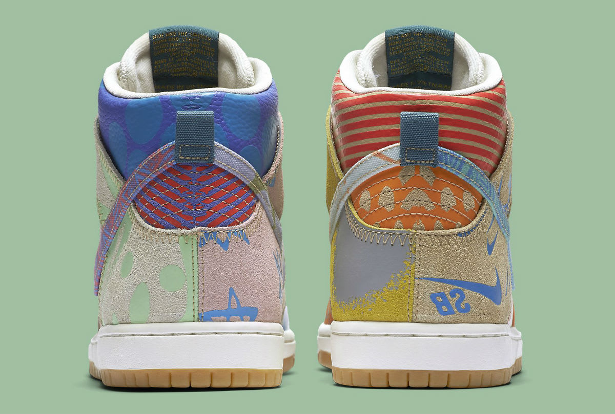 Thomas Campbell Nike SB Dunk High Chronicles Release Date Heel 918321-381