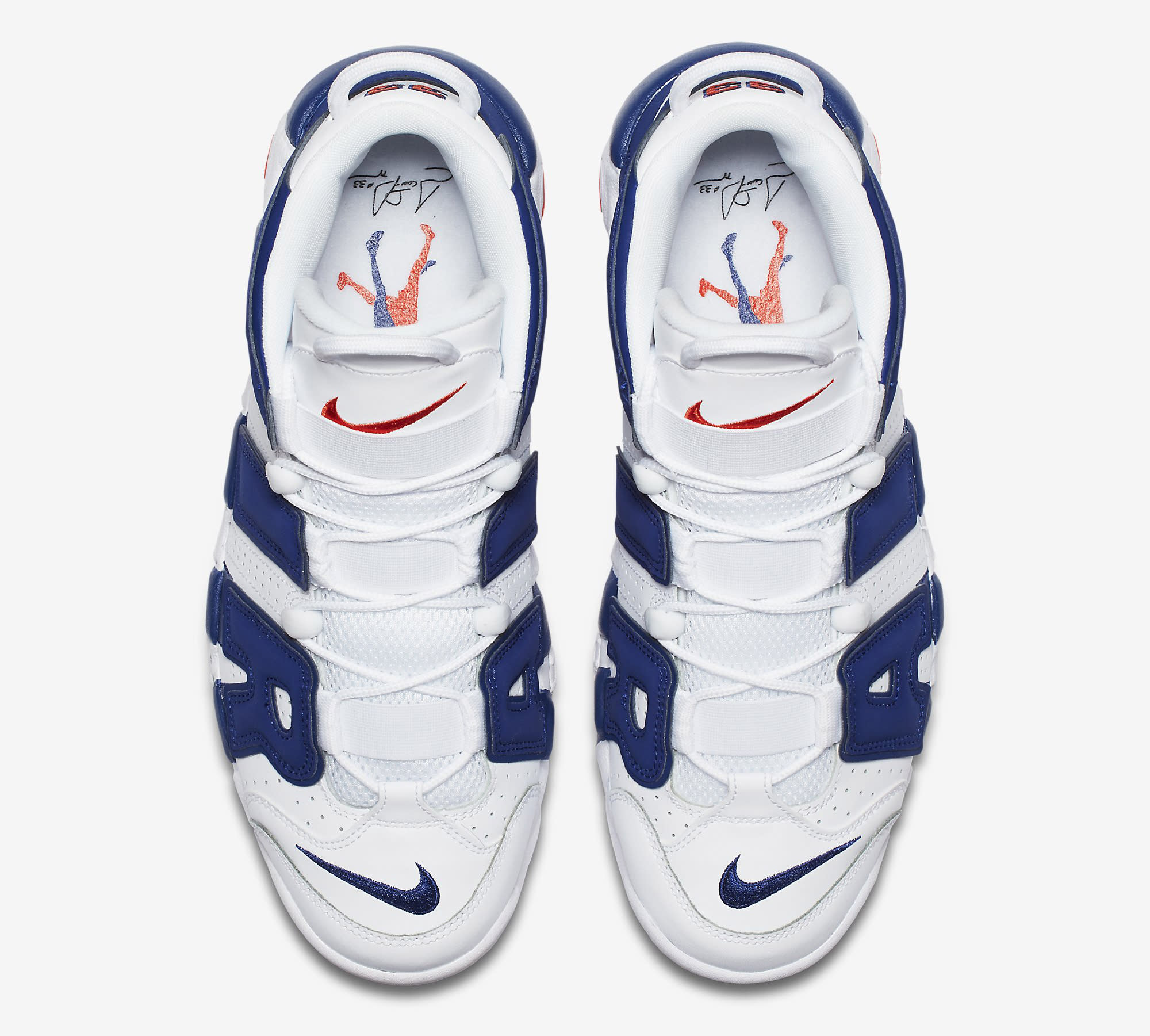 377095b1b1852 ... new zealand image via nike nike air more uptempo knicks 921948 101 top  d791a a1a13