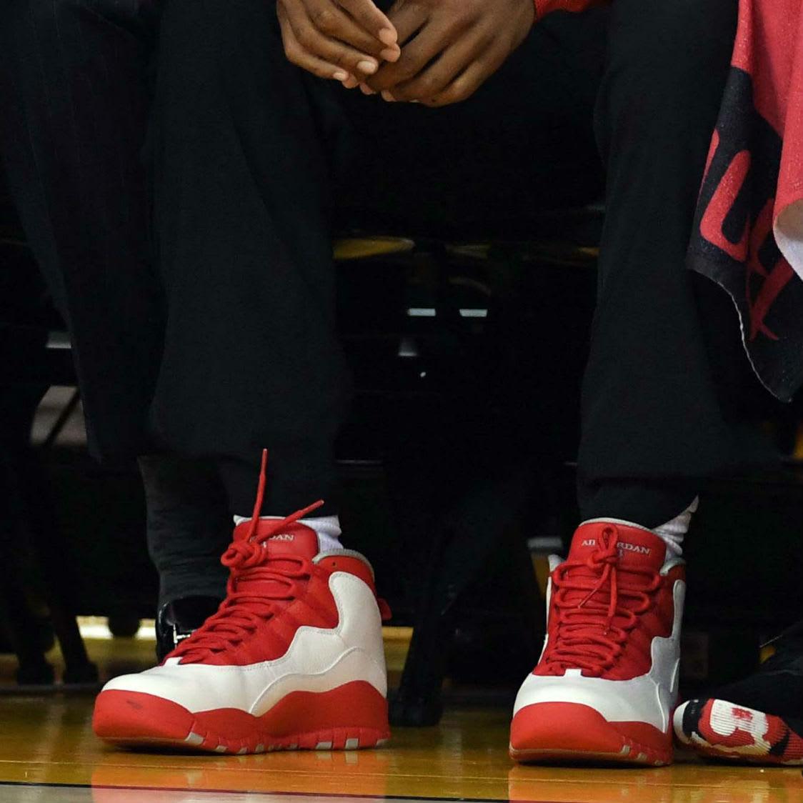 Chris Paul Air Jordan 10 X Rockets PE On-Foot