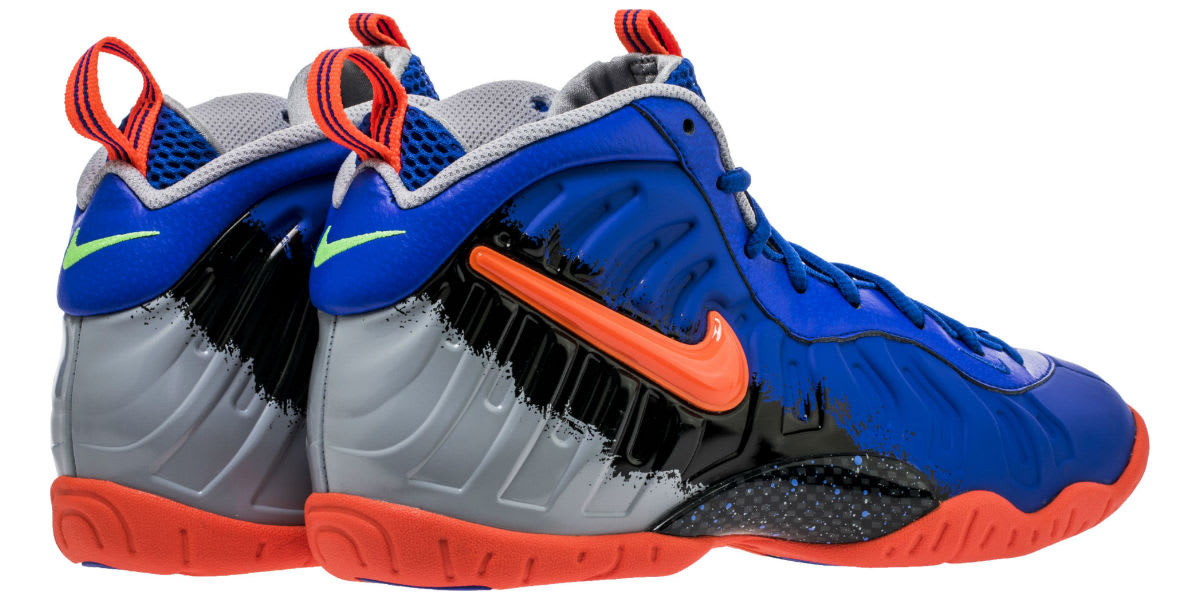 hot sale online 2d610 27484 Nerf Nike Little Posite Pro GS   Sole Collector.