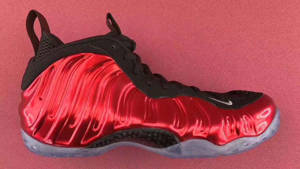 Nike Air Foamposite One Metallic Red 2017 Release Date 314996-610