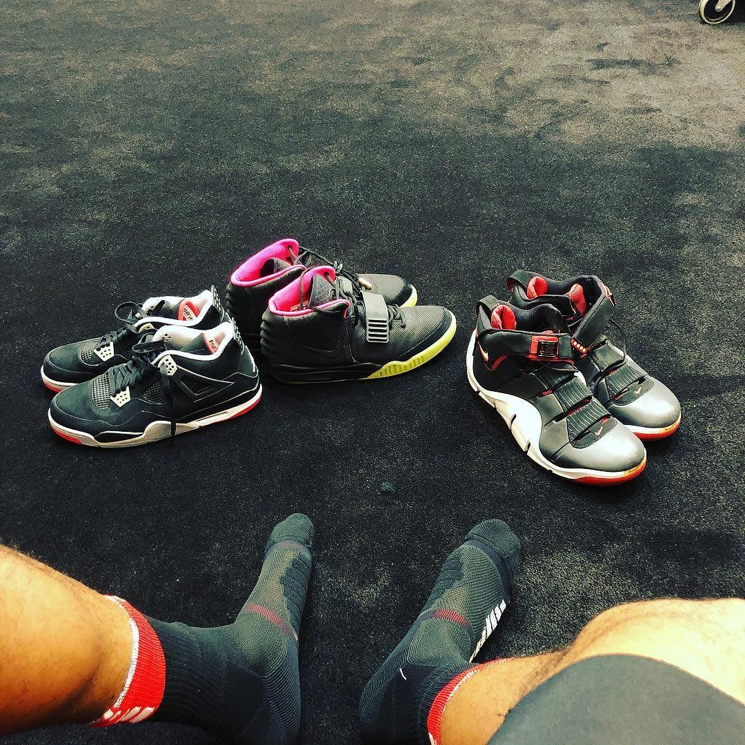 P.J. Tucker Nike Air Yeezy 2 Solar Red
