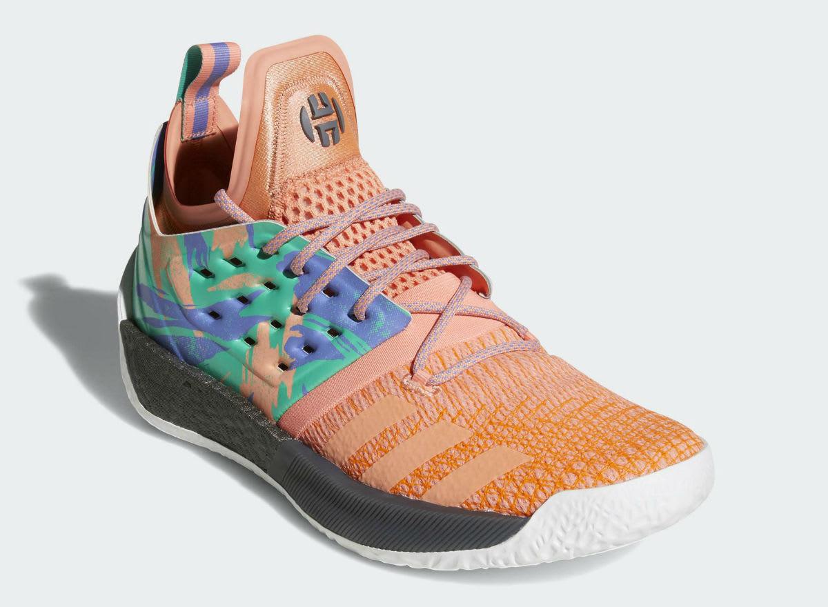Adidas Harden Vol. 2 Orange Release Date AH2219 Front