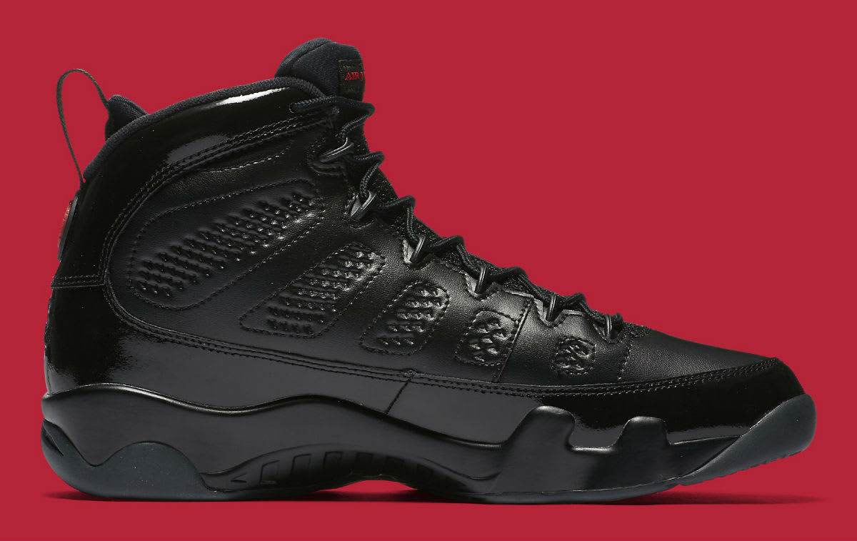 size 40 3ad3f 70d2b ... Black And Red  Air Jordan 9 IX Bred Release Date 302370-014 Medial ...