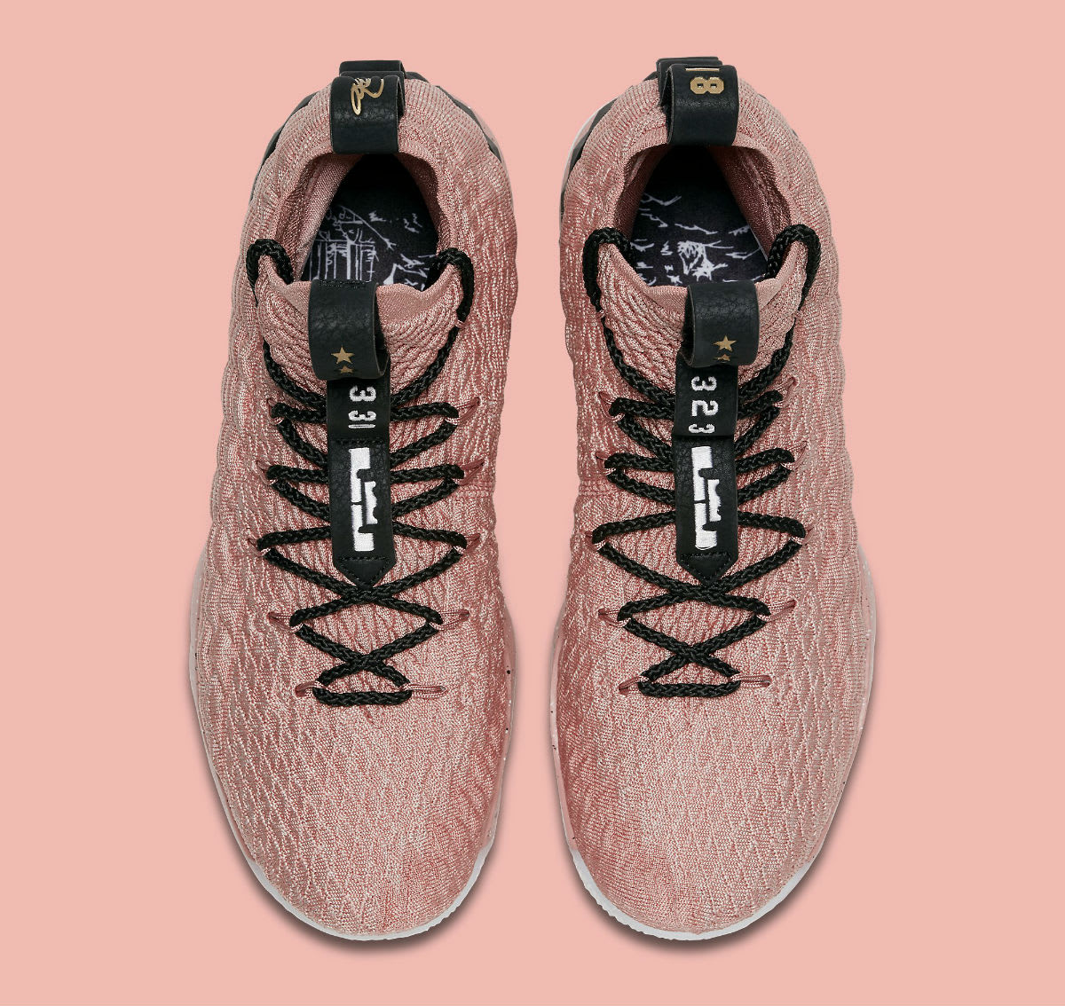 Nike LeBron 15 All-Star Pink Release Date 897650-600 Top