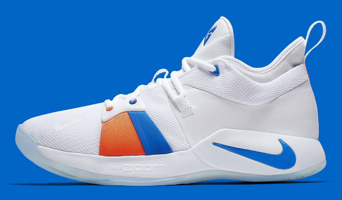 Nike PG2 OKC Home Release Date AO2984-100 Profile