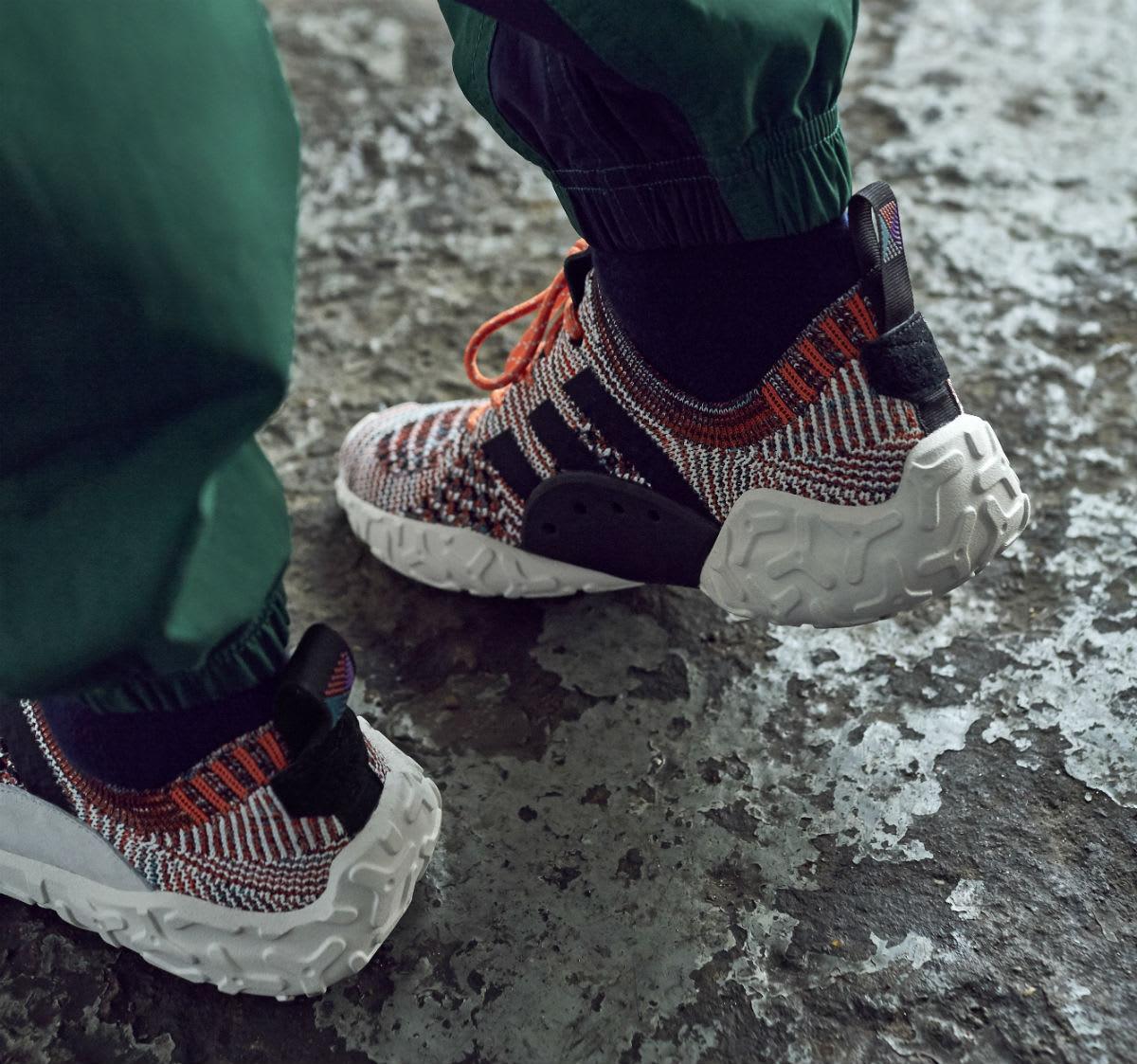 Adidas Atric F/22 Primeknit Trace Orange Release Date CQ3026 Heel