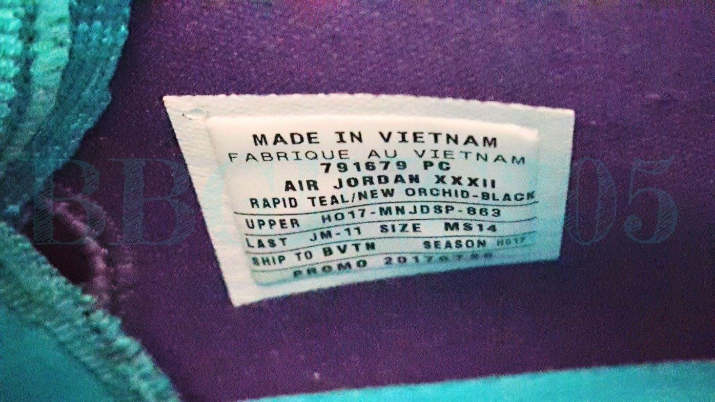 c45300388dba16 ... new shoes 9a273 9d59a Image via bbginc305 · Air Jordan 32 Hornets PE ...