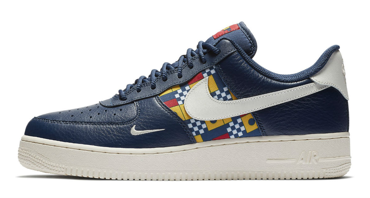 Nike Air Force 1 Low Nautical Redux Pack Release Date AR5394-400 Profile