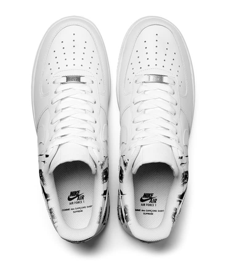 Supreme CDG Nike Air Force 1 Low Top