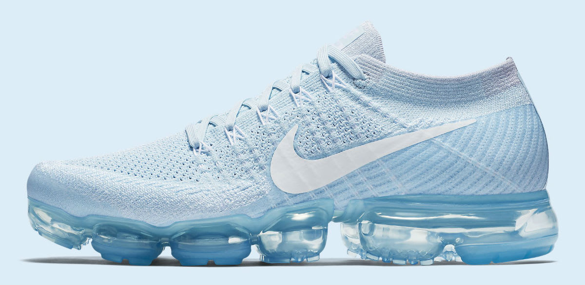 Nike Vapormax White And Blue