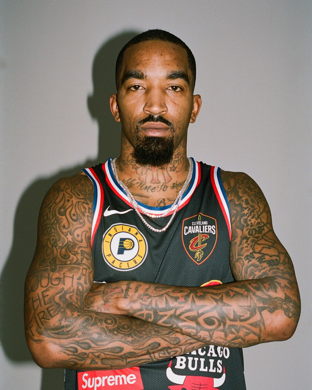 J R Smith Links Black Friday To Slavery On Instagram: J.R. Smith Supreme X Nike X NBA Jersey & Shorts