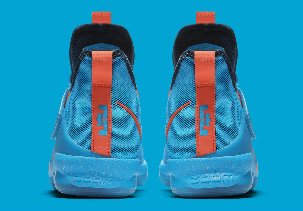 Nike LeBron 14 GS Cocoa Beach Release Date Heel 859468-477