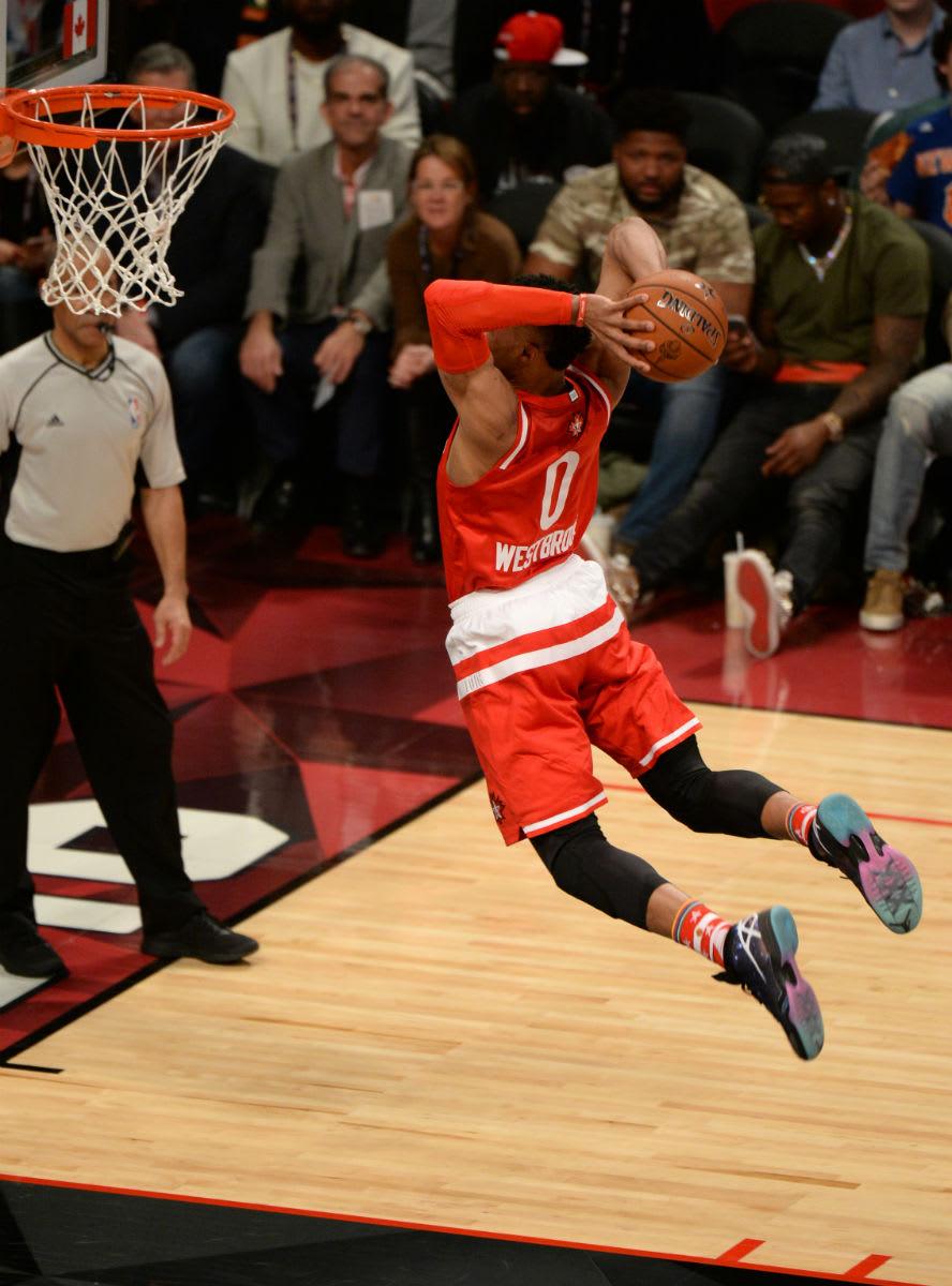 Russell Westbrook Air Jordan 30 All-Star Galaxy PE
