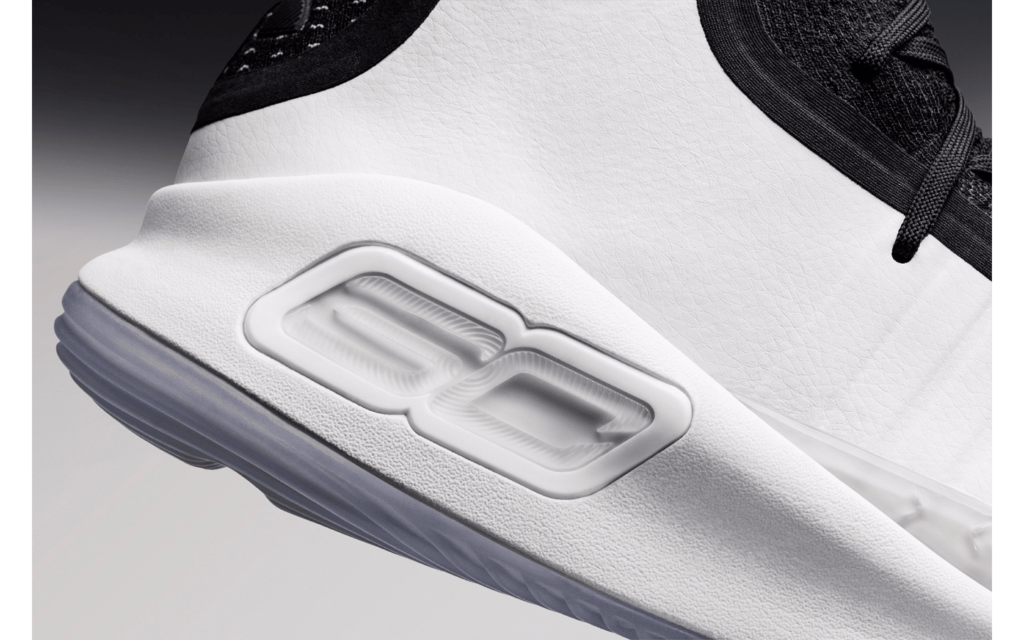 Under Armour Curry 4 Black/White 1298306-007 (Detail 1)
