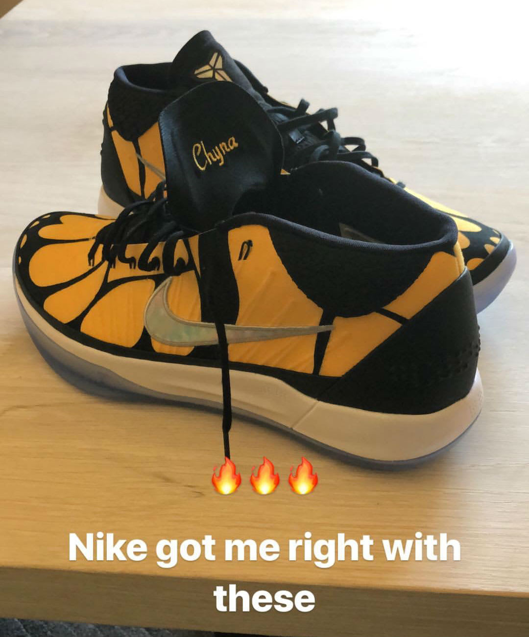 Isaiah Thomas Nike Kobe A.D. Chyna Heel