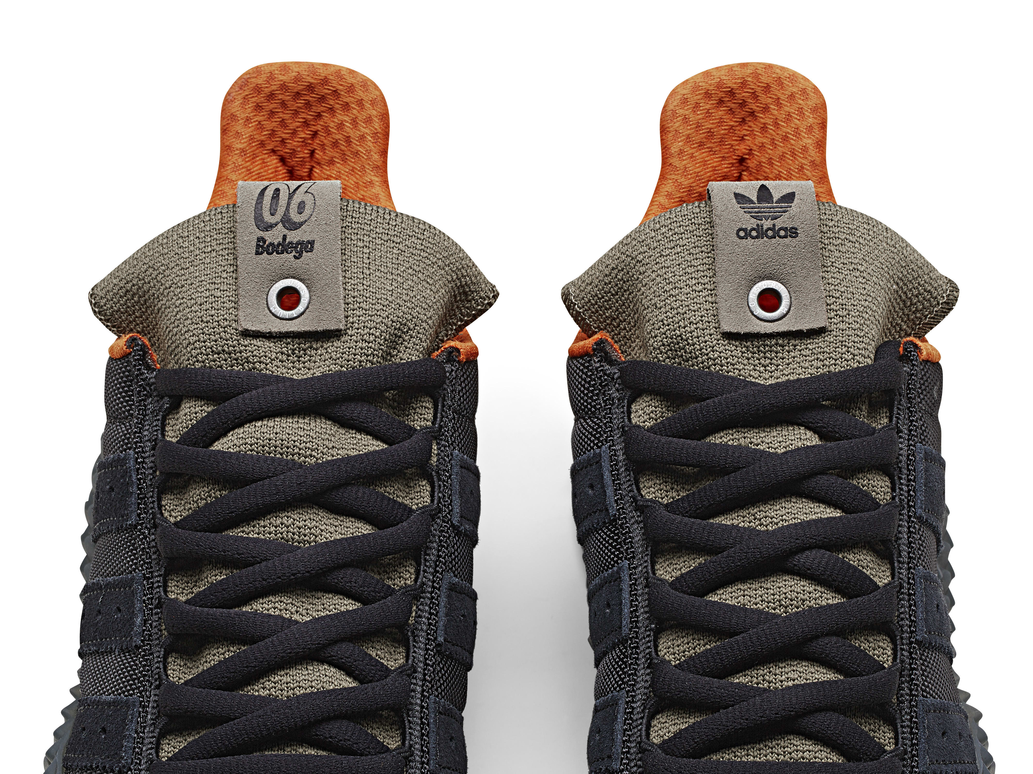 Bodega x Adidas Kamanda BB9243 (Tongue)