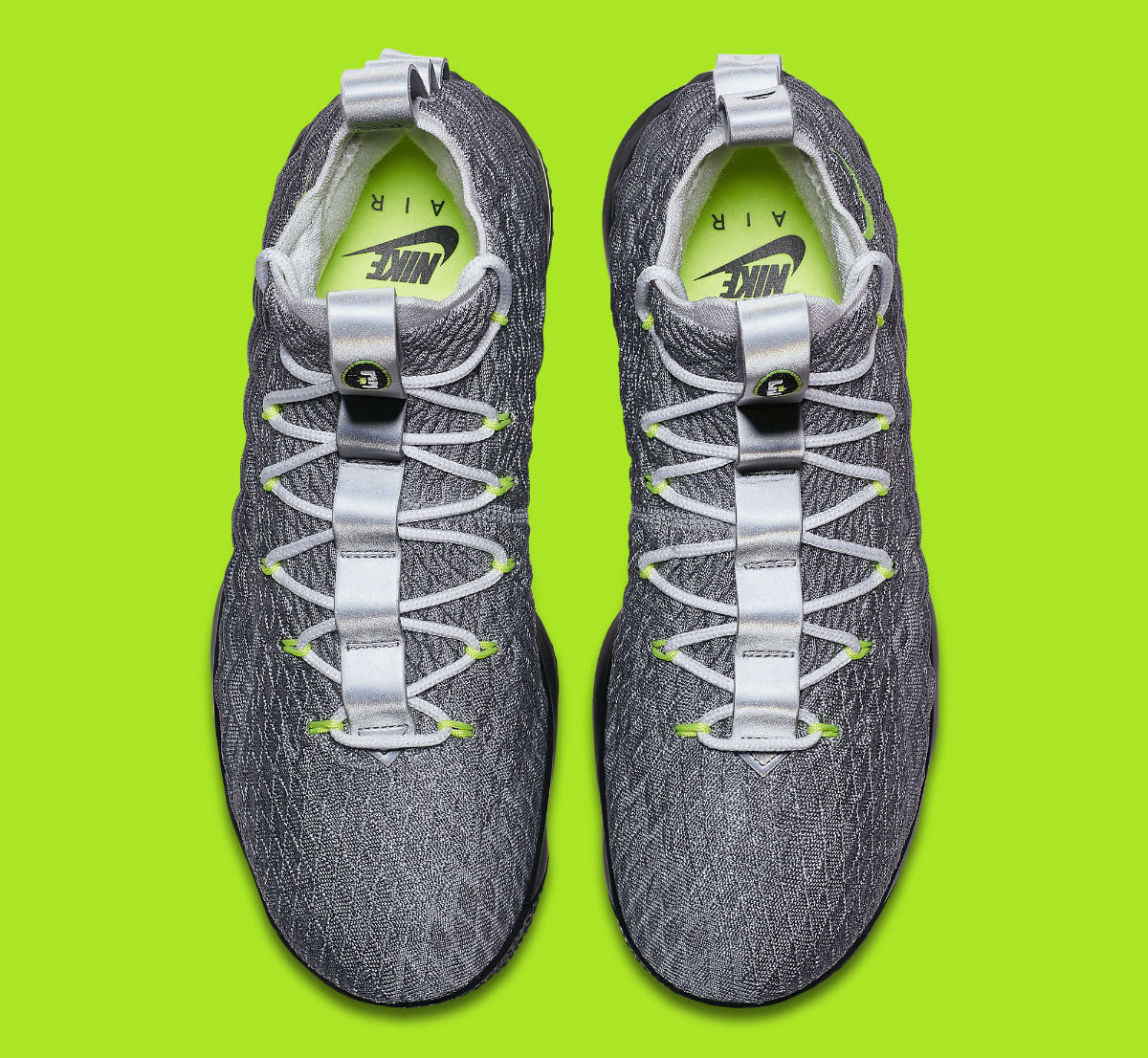 9ddf83ef5cc The sale of shoes Nike LeBron 15 Air Max 95 Neon Release Date AR4831-001 ...